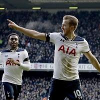 Harry Kane hits hat-trick as four-star Tottenham go second