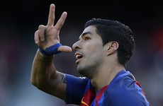 Watch: Suarez and Messi brilliance keeps Barca on Madrid's tail