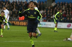 Wenger plays down Alexis behaviour after Arsenal star reacts angrily to substitution
