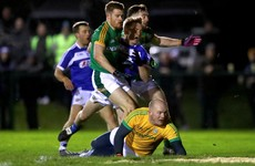 Joe Sheridan makes his debut in goal as Meath book O'Byrne Cup semi-final place