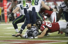 Seahawks can't live with high-flying Falcons