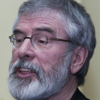 Gerry Adams says Stormont collapse is not a threat to the peace process