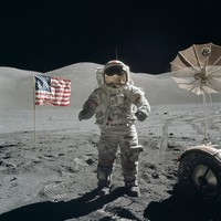 The last man to walk on the moon has died