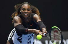 Serena Williams books her place in the second round but is the pressure of number 23 getting to her?
