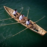 Two hand-built currachs to be launched into the Irish Sea this weekend