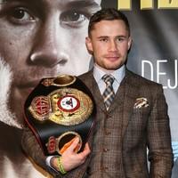 Carl Frampton wins prestigious boxing Fighter of the Year award