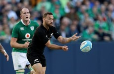 All Black out-half Aaron Cruden commits to three years with Montpellier