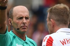 Under-fire referee Mike Dean demoted to the Championship