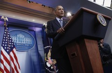 'The only thing that's the end of the world is the end of the world' - Obama bows out