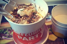 McDonald's is now selling giant McFlurries, and they are a thing of beauty