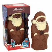 These chocolate Santas are being recalled because they may have plastic in them