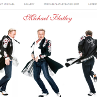 Someone bought colossalbellend.com and redirected it to Michael Flatley's website