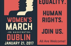 A group of American women have organised a Women's March for Dublin and Galway tomorrow