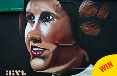 A wonderful mural in tribute to Carrie Fisher has just popped up in Dublin