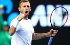 Dressed for success! Dan Evans through to Australian Open fourth round in €15 t-shirt