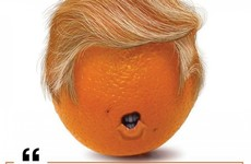A fruit-and-veg shop in Castlebar has a special deal on oranges to welcome President Trump