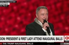 Here's Michael Flatley's Lord of the Dance performing at Trump's inauguration last night
