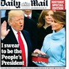 Here's how the world's newspapers reacted to President Trump's inauguration