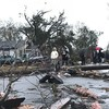 Mississippi tornado kills 4 and flattens homes overnight