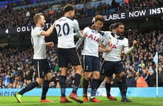 Man City impress but controversial decision helps Spurs earn draw at Etihad