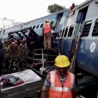 There are fears the death toll will rise after India's latest rail disaster kills 36