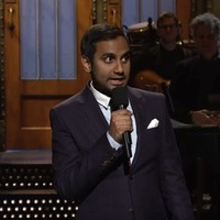 Aziz Ansari went in on Donald Trump with his Saturday Night Live monologue