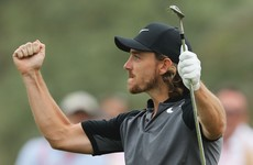 Fleetwood holds off big guns as Dunne falters in Abu Dhabi