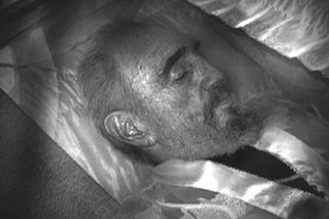This image - supposedly showing Fidel Castro lying in a coffin - circulated last year during a previous wave of rumours about Castro's apparent death.
