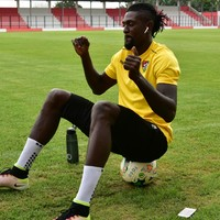 'I'm blessed with golden genes' - Adebayor ready for new Premier League chance
