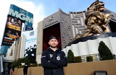 Accolades bring added pressure for Frampton but he expects to deliver on Vegas debut