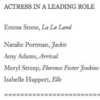 The Oscars has apologised for mistakenly naming Amy Adams a nominee instead of Ruth Negga