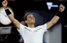 Vamos! Rafael Nadal is back in a Grand Slam semi-final for the first time in 3 years