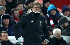 Klopp fumes at Long's handball as Liverpool miss out on Wembley