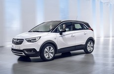 Opel's new 'Crossover Utility Vehicle' has a neat trick in the rear seats