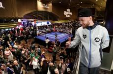 Frampton discovers 'devastating' knockout power as Las Vegas debut looms
