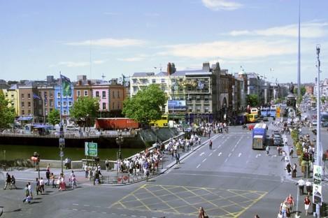 File photo: O'Connell Bridge in Dublin