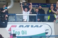 Champions! St Peter's see off Moate to claim first Leinster senior football title in 25 years