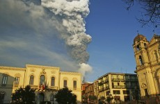 Minor eruptions at Mount Etna mark first activity of 2012