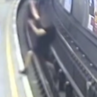 English football fan jailed for 10 years for pushing man onto electrified tube tracks