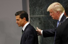 Trump and Nieto aren't going to talk about the border wall anymore