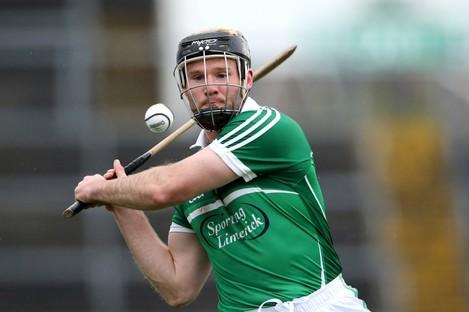 Limerick captain James Ryan.