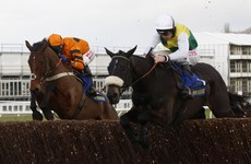 Many Clouds collapses and dies moments after beating Gold Cup favourite Thistlecrack