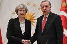 Theresa May signs €117m fighter jet deal with Turkey