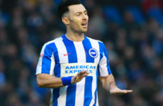 Richie Towell scored his first ever goal in English football for Brighton earlier today