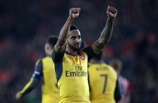 Walcott hits hat-trick and Welbeck scores for first time since May as Gunners thump Saints