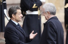 Italian leader Monti to meet Sarkozy amid bond fears