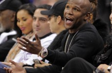 Seconds out... Floyd Mayweather Jr due to begin jail term