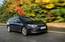 The Kia Optima Sportswagon is a handsome estate - so how much can you fit in the boot?