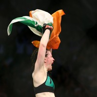 The first Irish woman to compete in the UFC has retired due to a brain scan 'abnormality'
