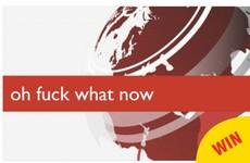An Irishman's joke BBC breaking news ticker has become a huge meme